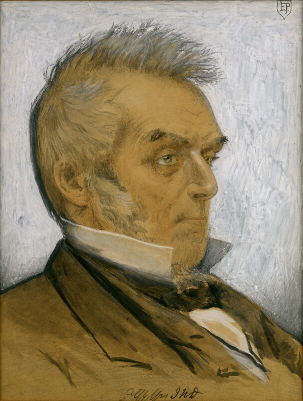 John Nelson Darby after Edward Penstone (© National Portrait Gallery NPG 4870)